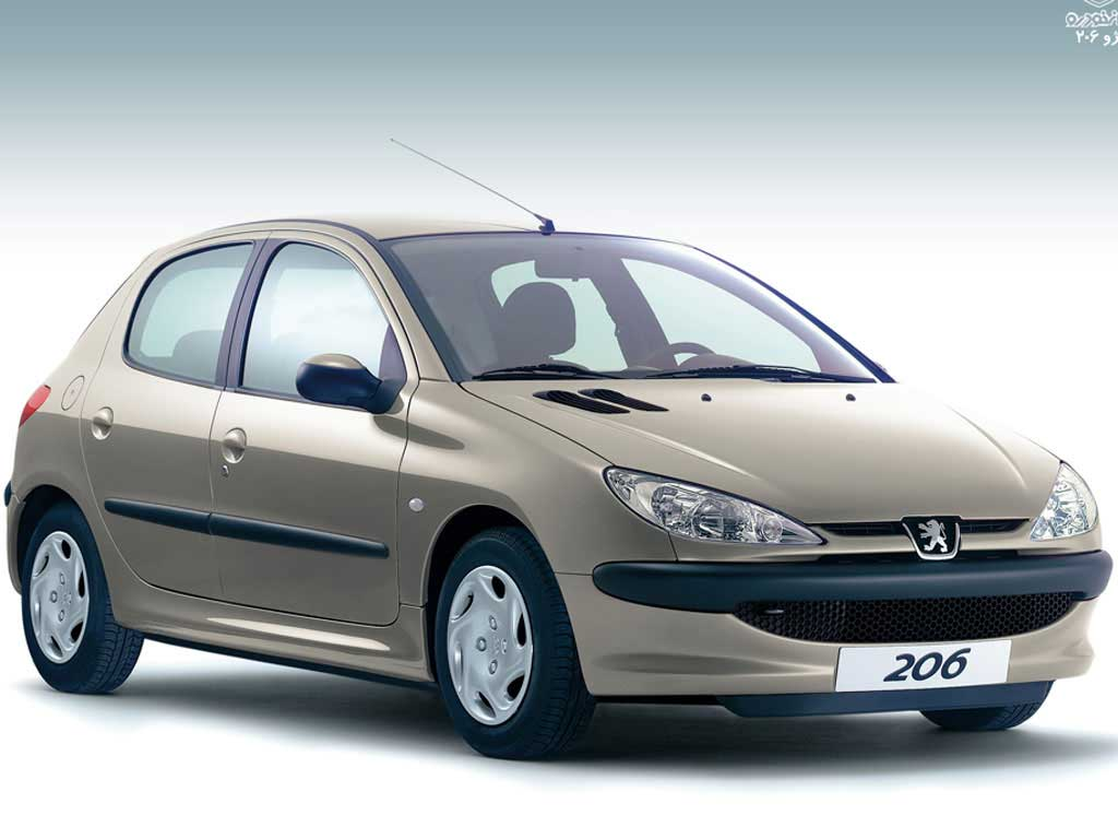 قیمت ماشین پژو 206